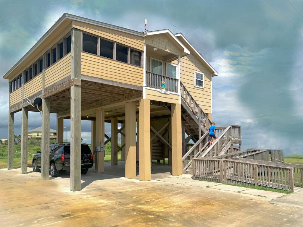 Rental in Gilchrist Texas - Beach and Bay